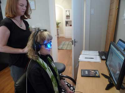 Adults benefit from neurofeedback training for conditions like chronic pain, depression, anxiety and insomnia.